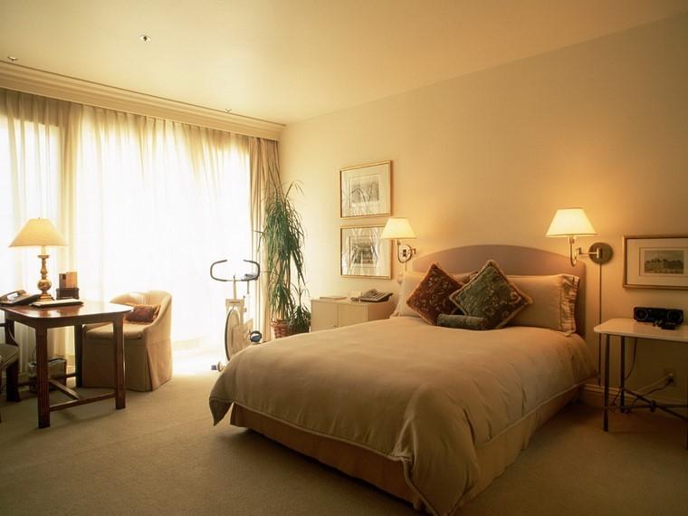 se détendre grand lit confortable belles idées modernes
