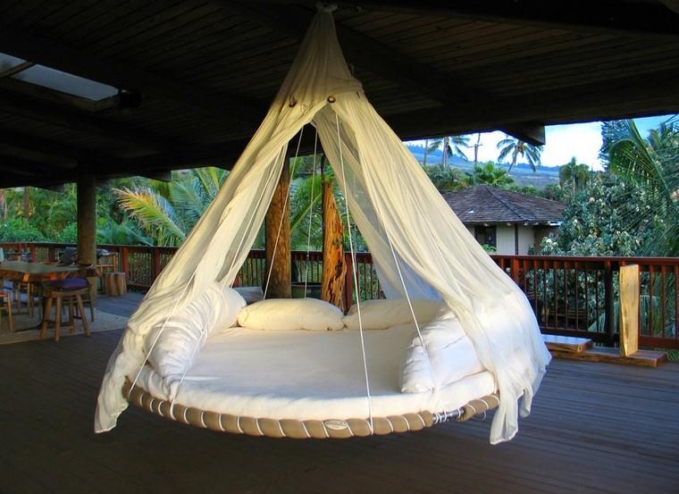 Détendez-vous lit suspendu design moderne en plein air