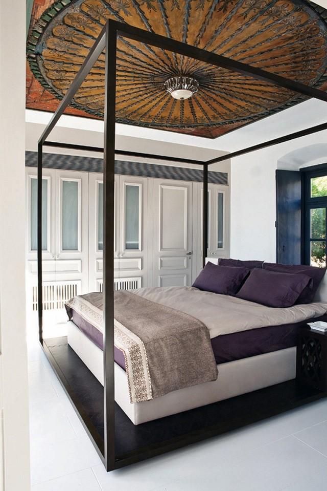 Plafond en bois idée de conception intéressante