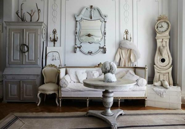 décor de marbre vintage shabby chic