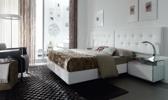 Idées de décoration de chambre à coucher moderne