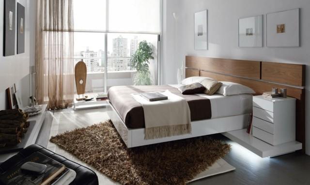 décoration de la chambre à coucher plantes modernes