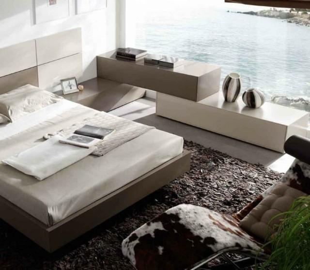 décoration de chambre à coucher plantes piscine naturelle