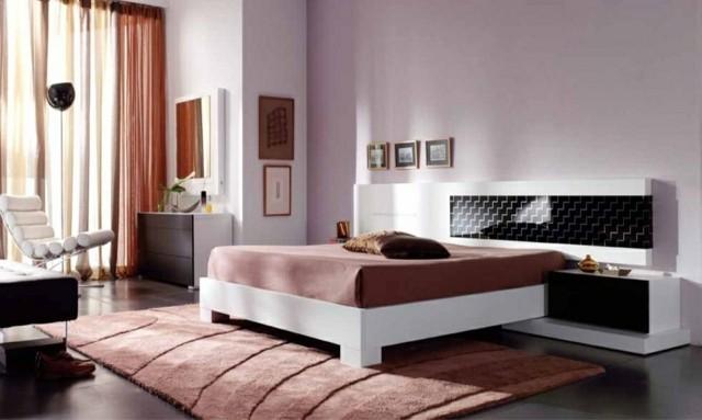 style de mobilier marron moderne et chaleureux