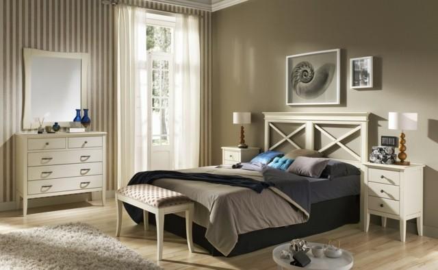 rideaux de style meuble marron chaud