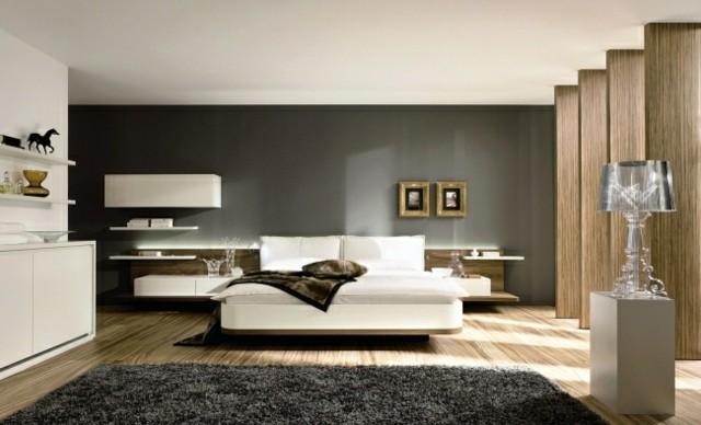 tapis en bois de lampe de meubles modernes