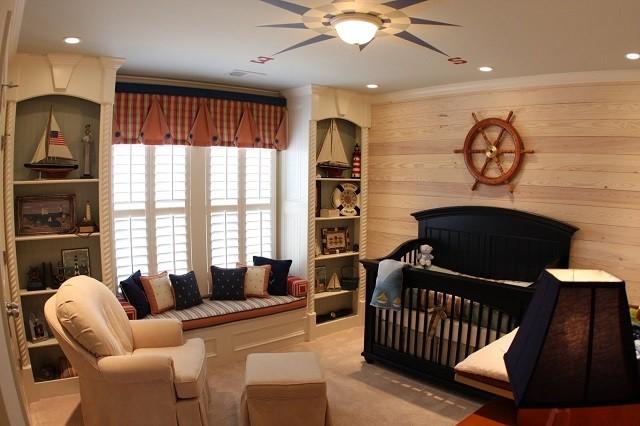design chambre enfants intérieur canapé en bois