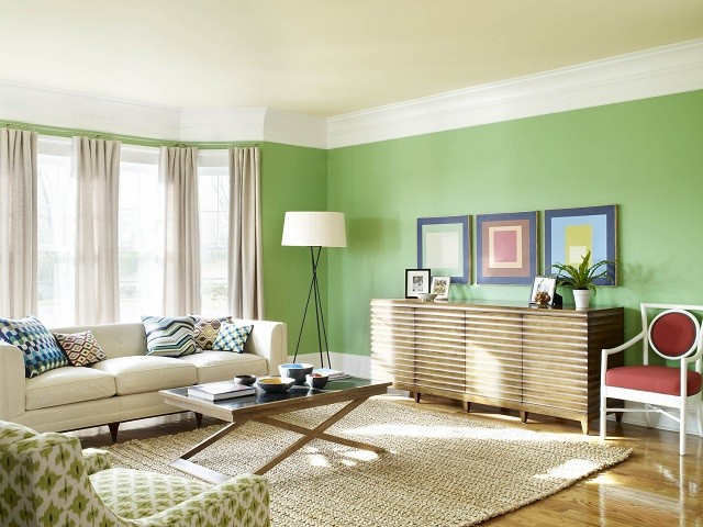 idées chaleureuses design salon couleurs éclairage décoration