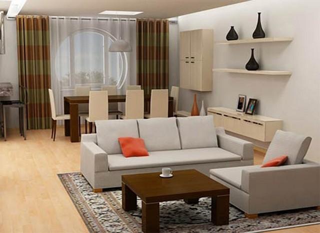 salon couleurs chaudes idées décoration design