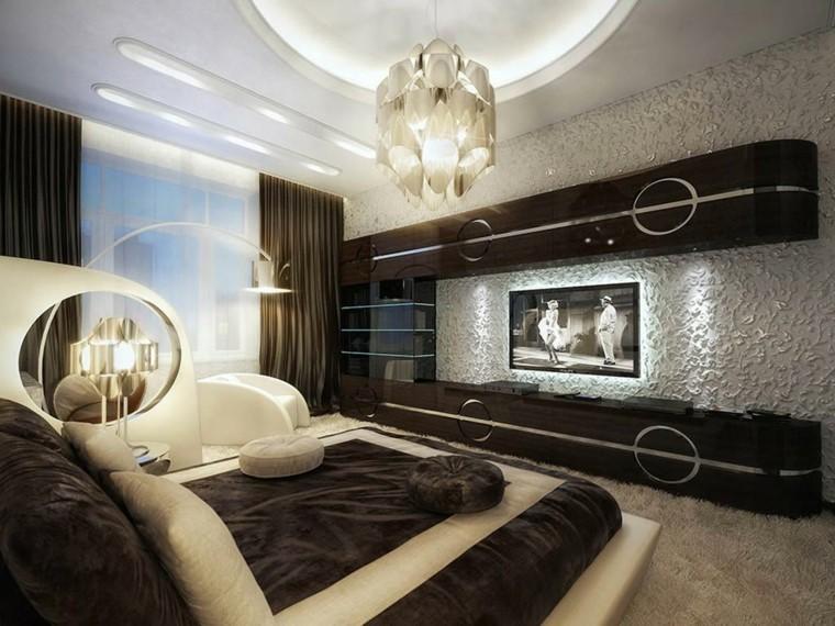 décoration chambre lampe design moderne