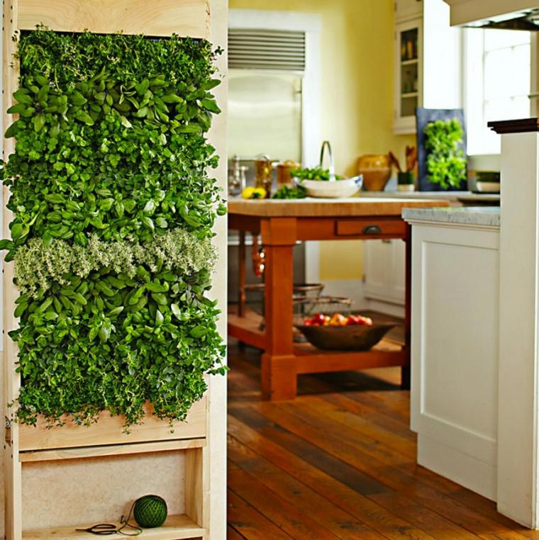 épices de cuisine jardin vertical