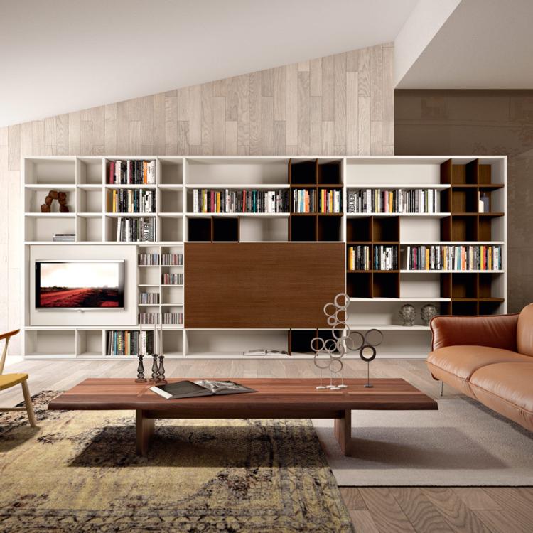 meubles d'étagère de salon de conception originale