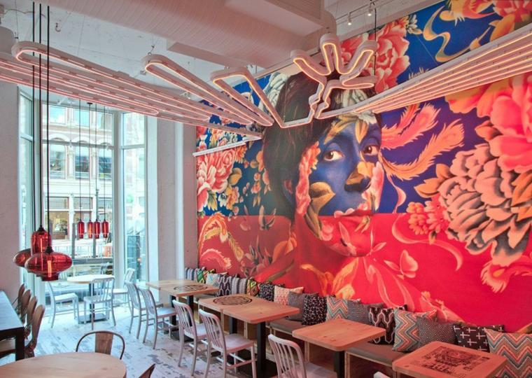 murs créativité systèmes de couleurs murales maisons