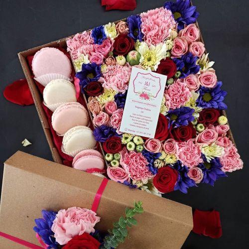 comment-faire-un-arrangement-floral-avec-des-macarrons-instagram