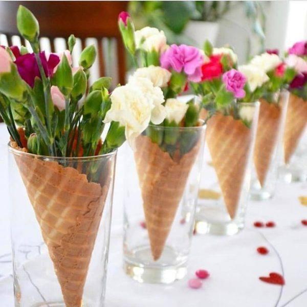 comment-faire-un-arrangement-fleur-centre-de-table-fleurs-cornet-instagram