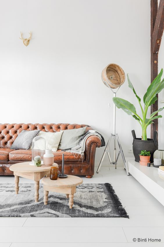 Canapé Chester salon