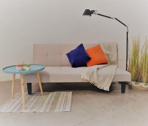 Canapé-lit livre salon
