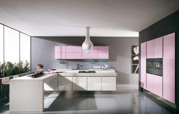 cuisines-rose-noir-blanc