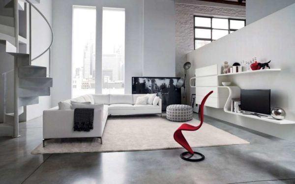 Chambres avec charme salon couleurs contrastées