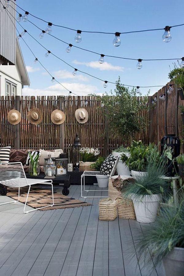 Bois extérieur, jardins et terrasses, sol stratifié