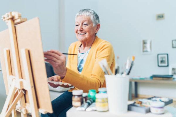 Meilleures idées d'artisanat pour les personnes âgées PEINTURE