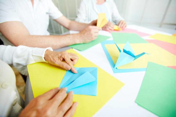 Meilleures idées d'artisanat en origami pour les personnes âgées