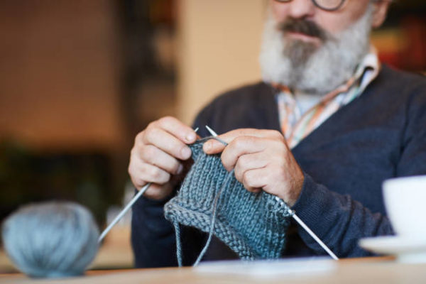 Meilleures idées d'artisanat pour les personnes âgées à tricoter