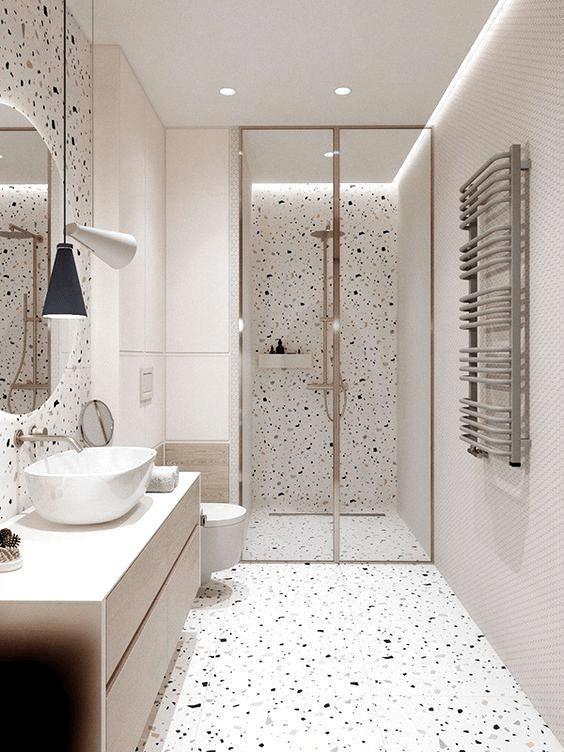 15 petites salles de bain avec douche 2021 2022 profonde