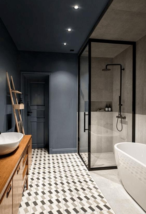 15 petites salles de bain avec douche étage vintage 2021 2022