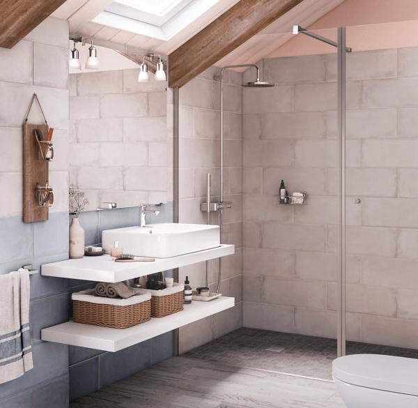 15 petites salles de bain avec douche 2021 2022 LEROY MERLIN salle de bain minimaliste