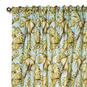rideaux-leroy-merlin-imprimé-floral-gingembre