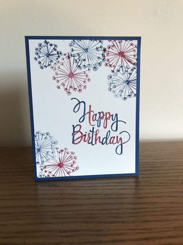 Meilleures cartes faites à la main pour la fête de l'indépendance minimaliste des États-Unis