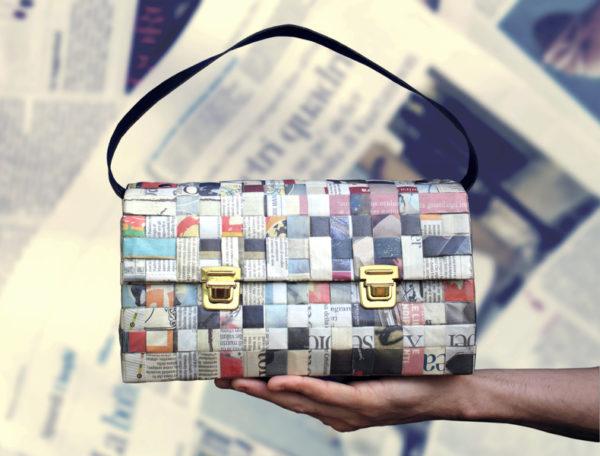 Idées de bricolage avec un sac en papier journal