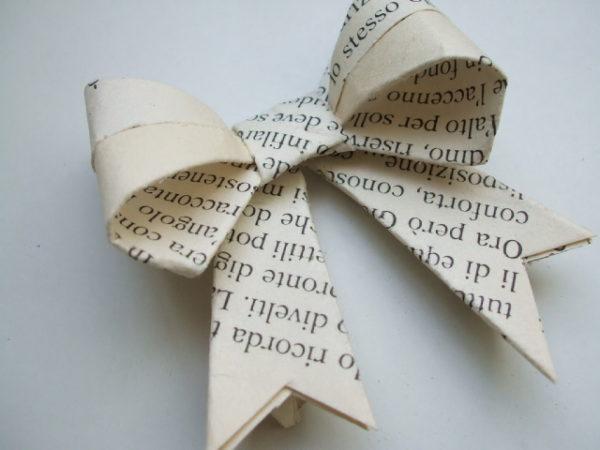 Idées d'artisanat d'arc de journal