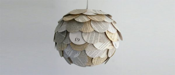 artisanat-avec-journaux-lampes-papier