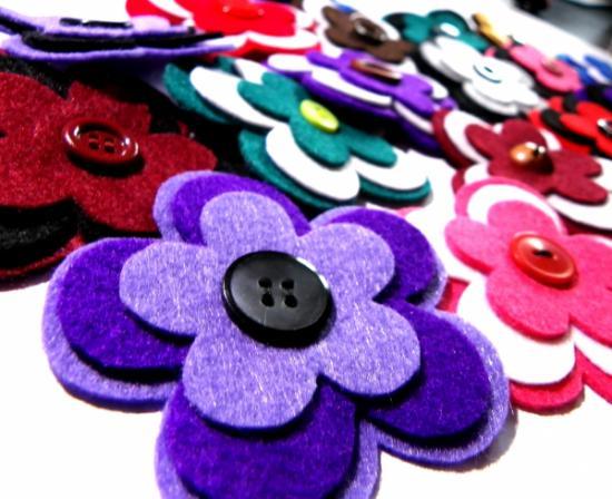 artisanat-avec-feutre-fleurs