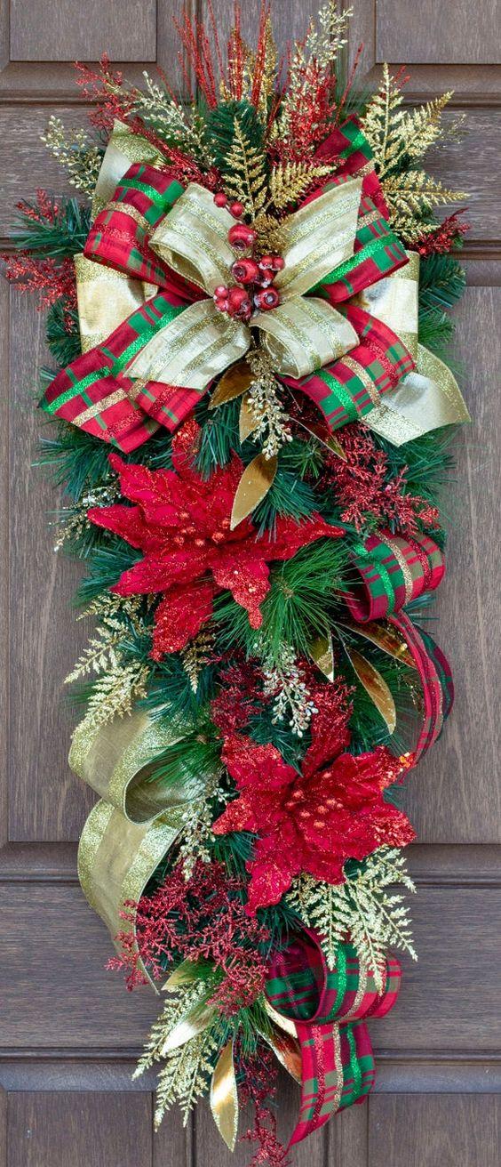 Pendentifs traditionnels en forme de larme de Noël