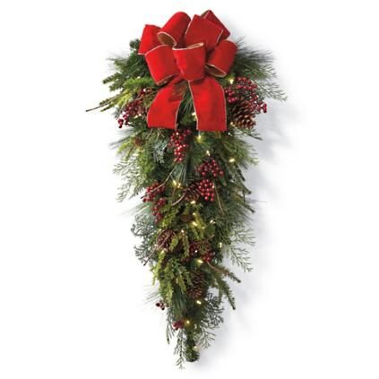 Idées de pendentif en forme de larme de Noël avec des pommes de pin