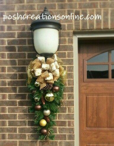 Accrocheurs de porte de Noël élégants