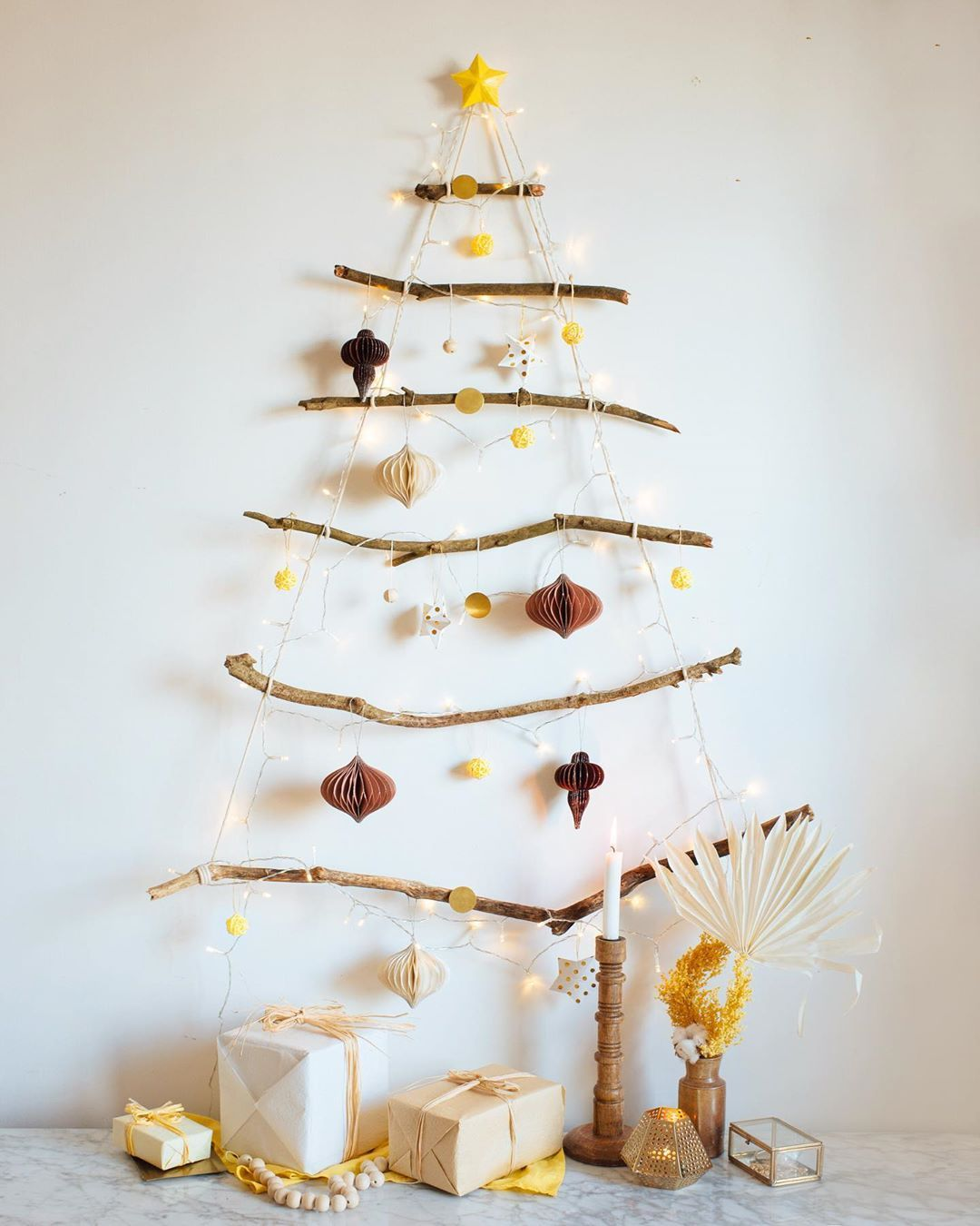 Ornements de pin de Noël originaux