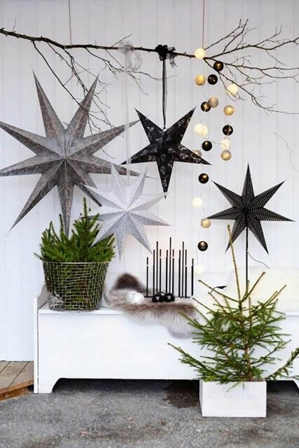 vases décoratifs de Noël