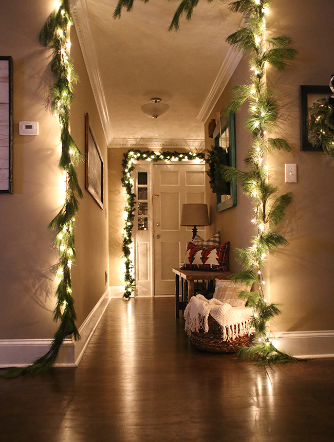 Éclairage pour la décoration de Noël