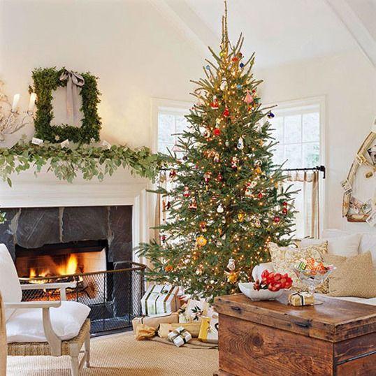 Vous ne pouvez pas manquer l'arbre de Noël