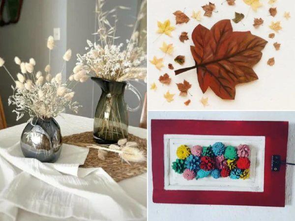 Décoration d'automne.  Des idées pour décorer la maison en cette saison