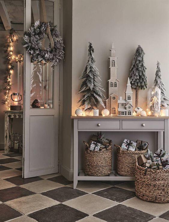 Décorez votre salle très Noël