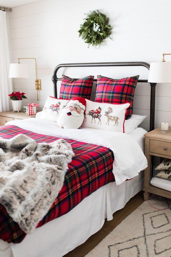 Des idées pour décorer votre chambre à Noël
