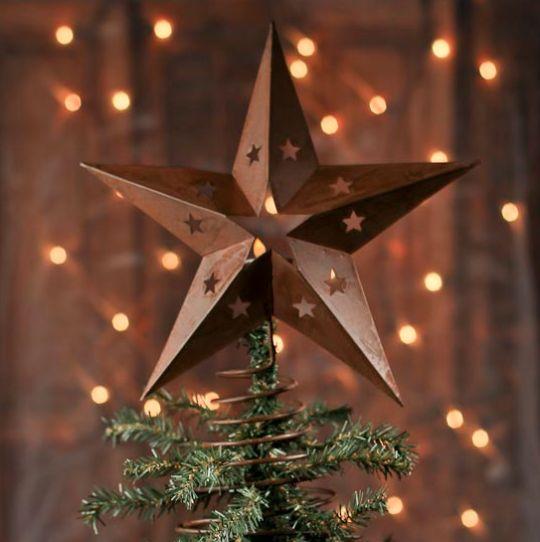Étoiles lumineuses de Noël